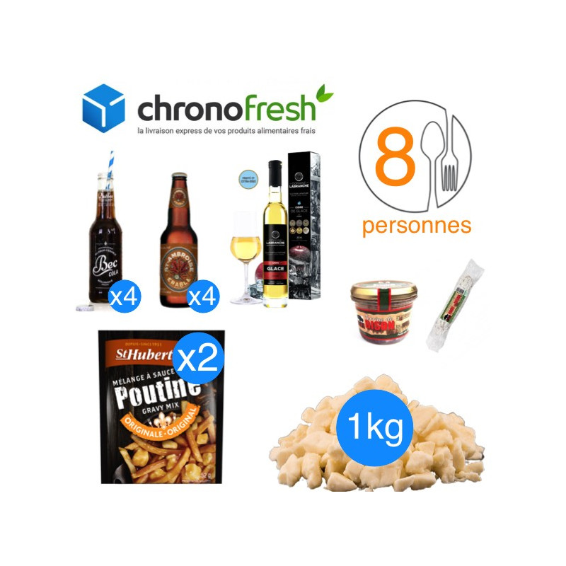 Pack apéro poutine fromage