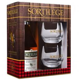 Whiskyproeverij geschenkdoos met ahornsiroop
