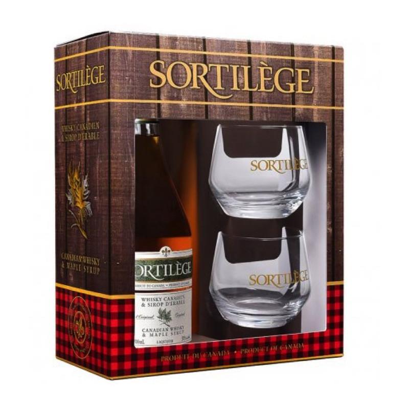 Confezione regalo degustazione whisky con sciroppo d'acero