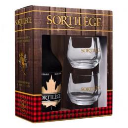 Coffret cadeau degustation creme de whisky Sortilege