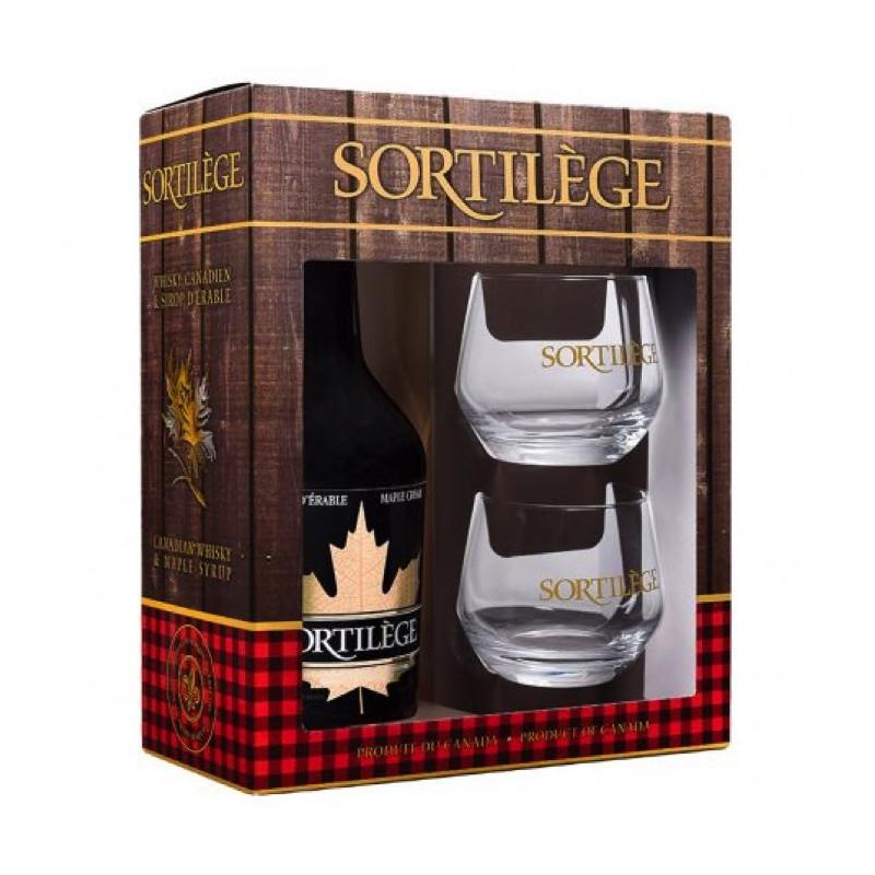Sortilege Geschenkbox mit Whisky-Creme-Verkostung