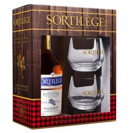 Confezione regalo degustazione whisky al mirtillo Sortilege
