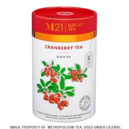 Cranberry zwarte thee