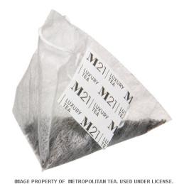 sachet pyramidal de thé à la crème d'érable
