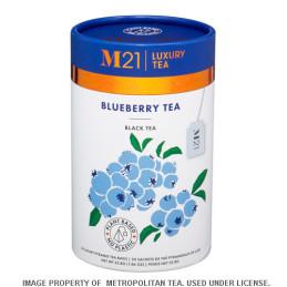 Tè di lusso con mirtilli selvatici