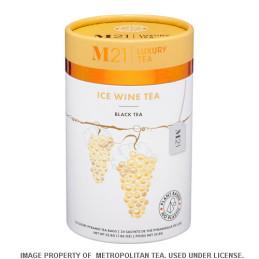 Thé noir au vin de glace canadien
