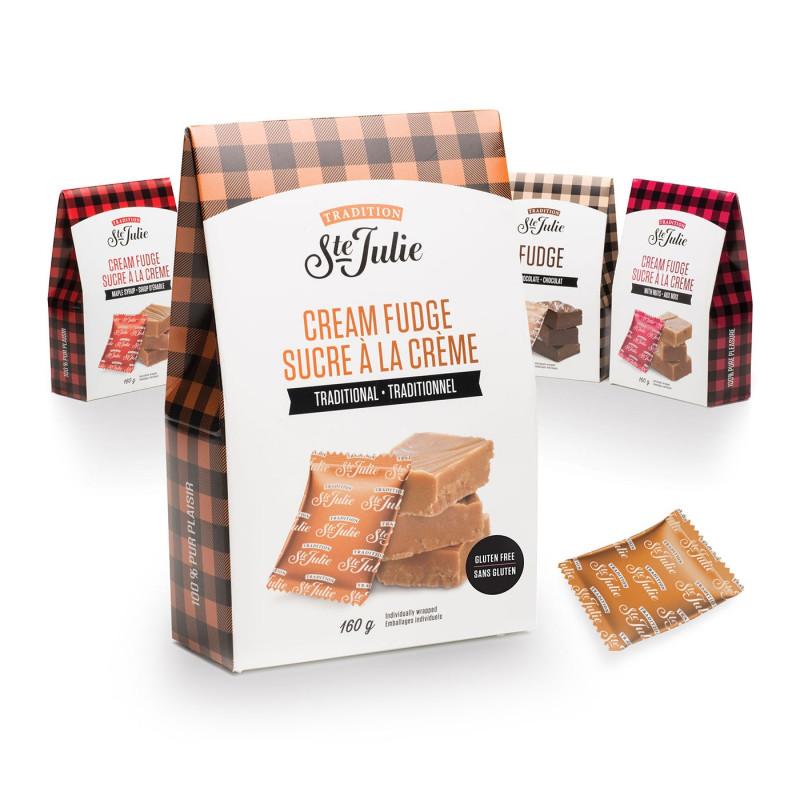 gamme sucre à la crème Ste julie du quebec