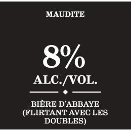 unibroue Quebec vervloekt biergegevensblad