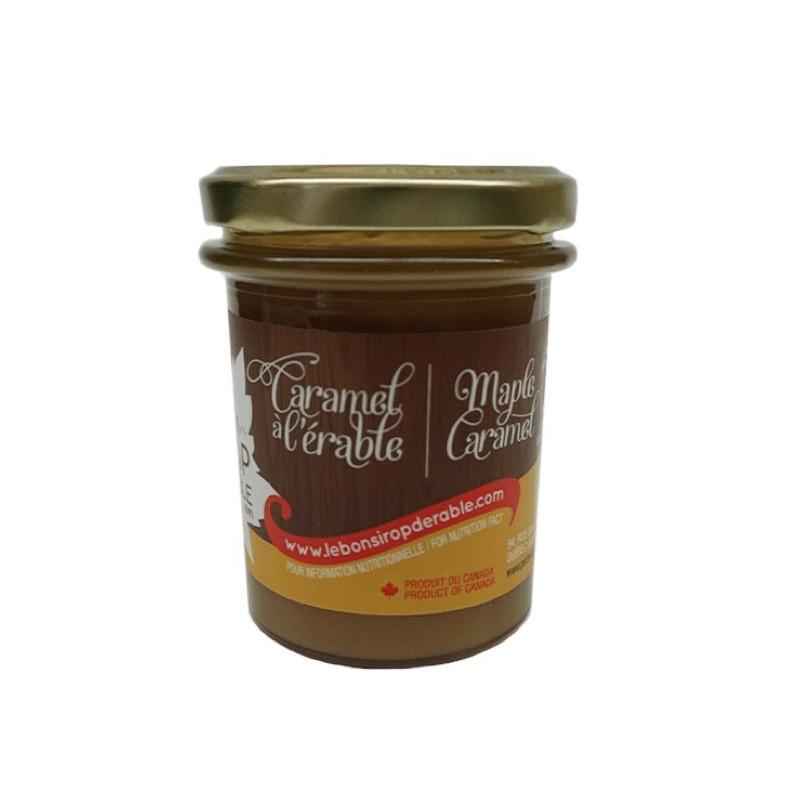 Caramel à l'érable du Québec