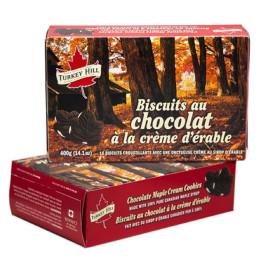 Turkey Hill Chocolate Maple Leaf Cookies