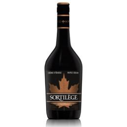 Crème de whisky sortilège dans une bouteille
