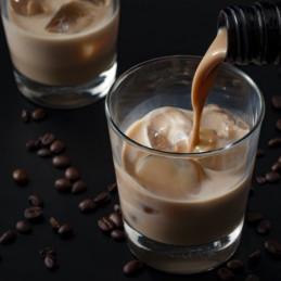 Coureur des Bois esdoorn crème in een glas