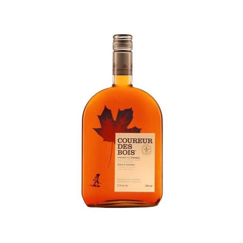 Whisky au sirop d'érable Coureur des Bois