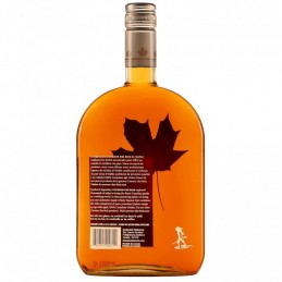 Bouteille de coureur des bois whisky à l'érable