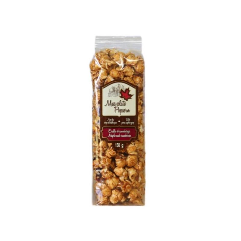 Popcorn met ahornsiroop