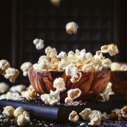 Ciotola per popcorn in acero