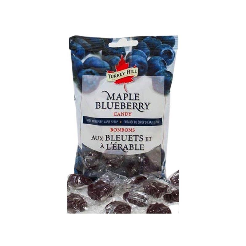 Bonbons aux bleuets et sirop d'érable