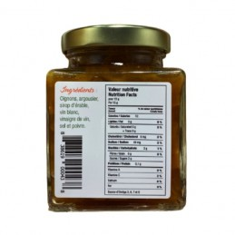 Valori nutrizionali confit di cipolla con olivello spinoso