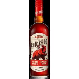 Chique choc gekruide rum