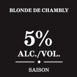 Fiche technique bière blonde de chambly