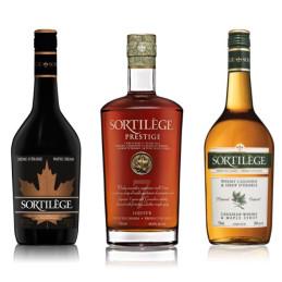 Whisky sortilège trio gamma con sciroppo d'acero