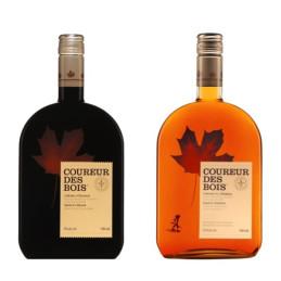 Coureur des bois whisky duo met ahornsiroop