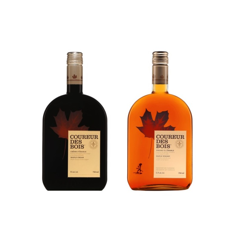 Duo di whisky Coureur des bois con sciroppo d'acero