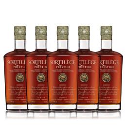 Pack de 5 whisky sortilège prestige 7 ans d'age