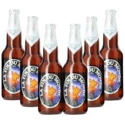 Packung mit 6 Bieren das Ende der Welt von Unibroue