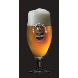 Bier allemaal in een glas
