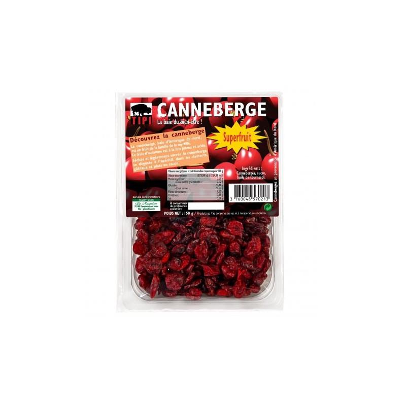 Gedroogde cranberrybes