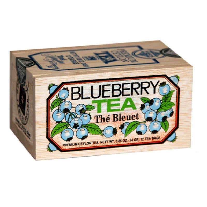Tè nero al mirtillo canadese