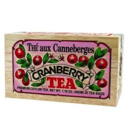 Tè al mirtillo rosso canadese