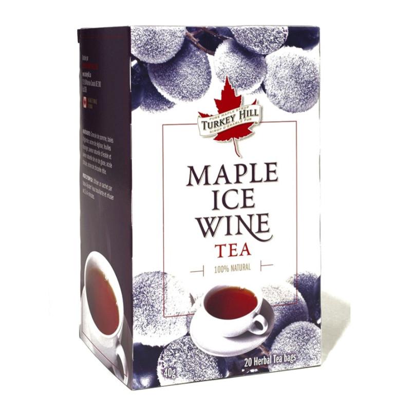 Tè freddo al vino d'acero canadese