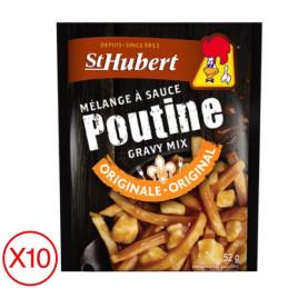 Sachet de sauce poutine st Hubert par 10 unités