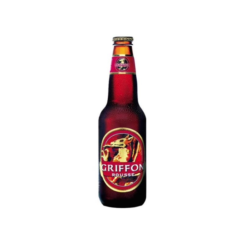 Bière rousse Griffon Mc Auslan