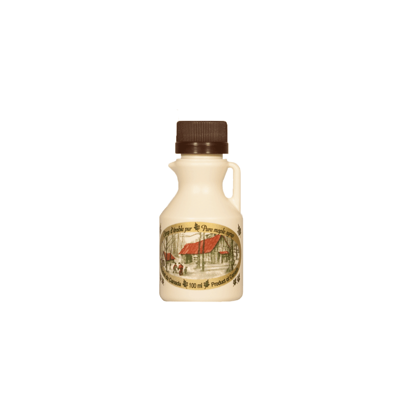 Cruche de 100 ml de sirop d'érable ambré