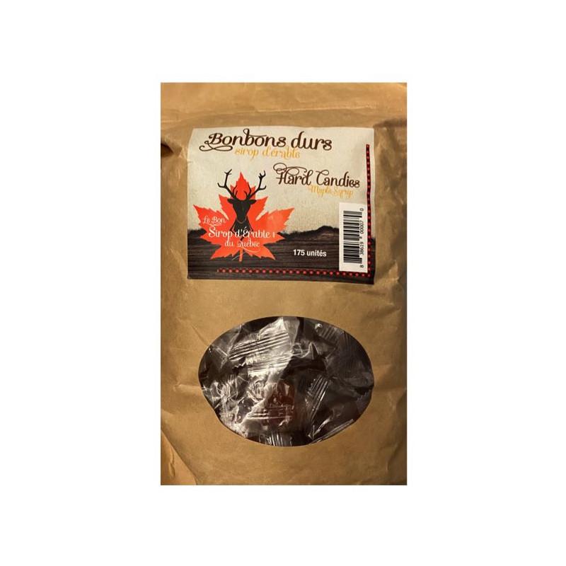 Harte Ahornsirup-Bonbons