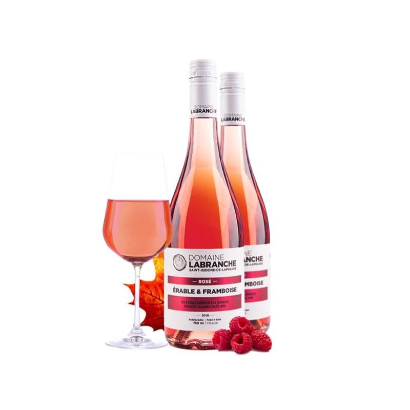 Rosé d'érable du Québec