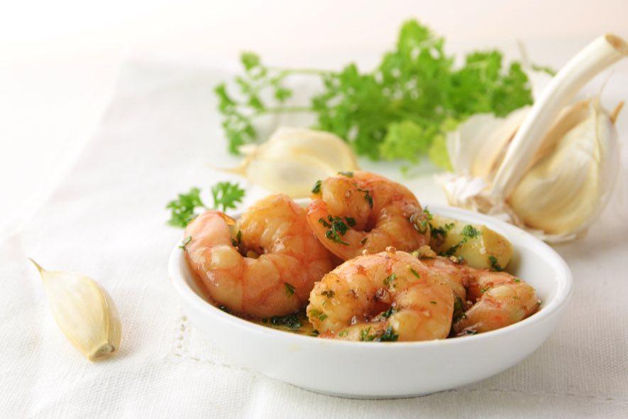 Crevettes à l'asiatique à l'Agasse sucrée