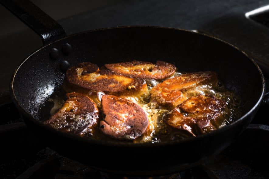 Foie gras poêlé à l'érable