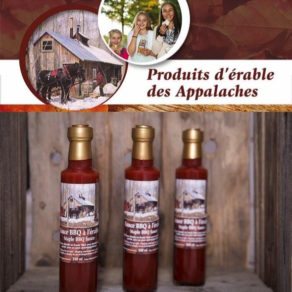 Produits d'érable des Appalaches