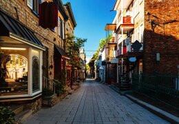 Il Quartier du Petit Champlain in Québec