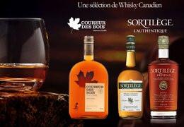 Le whisky canadien au sirop d'érable